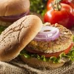 Vegan diet veggie burgers