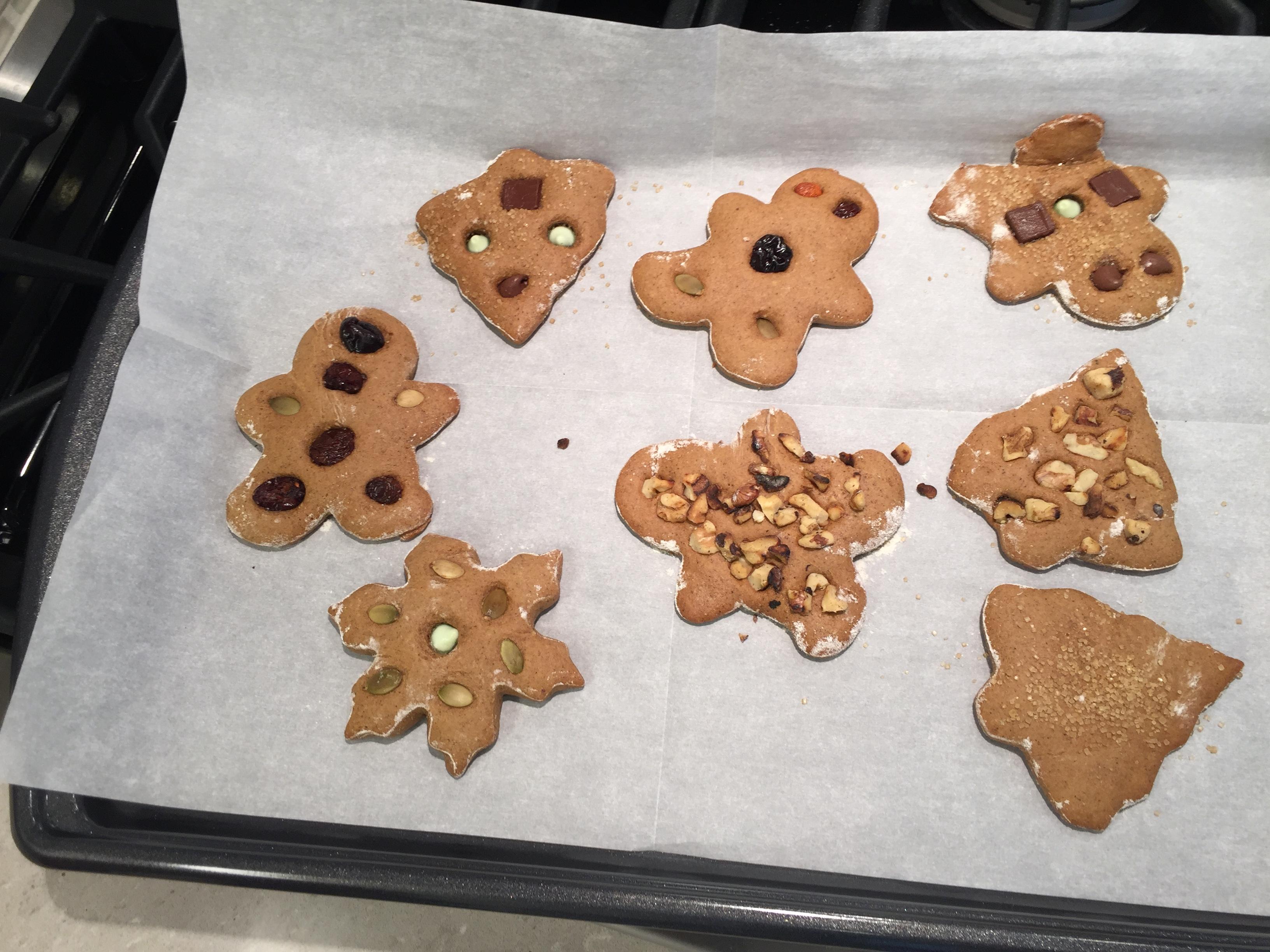 healthy eating plan gingerbread cookies