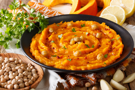 dieting plans healthy snacks pumpkin hummus