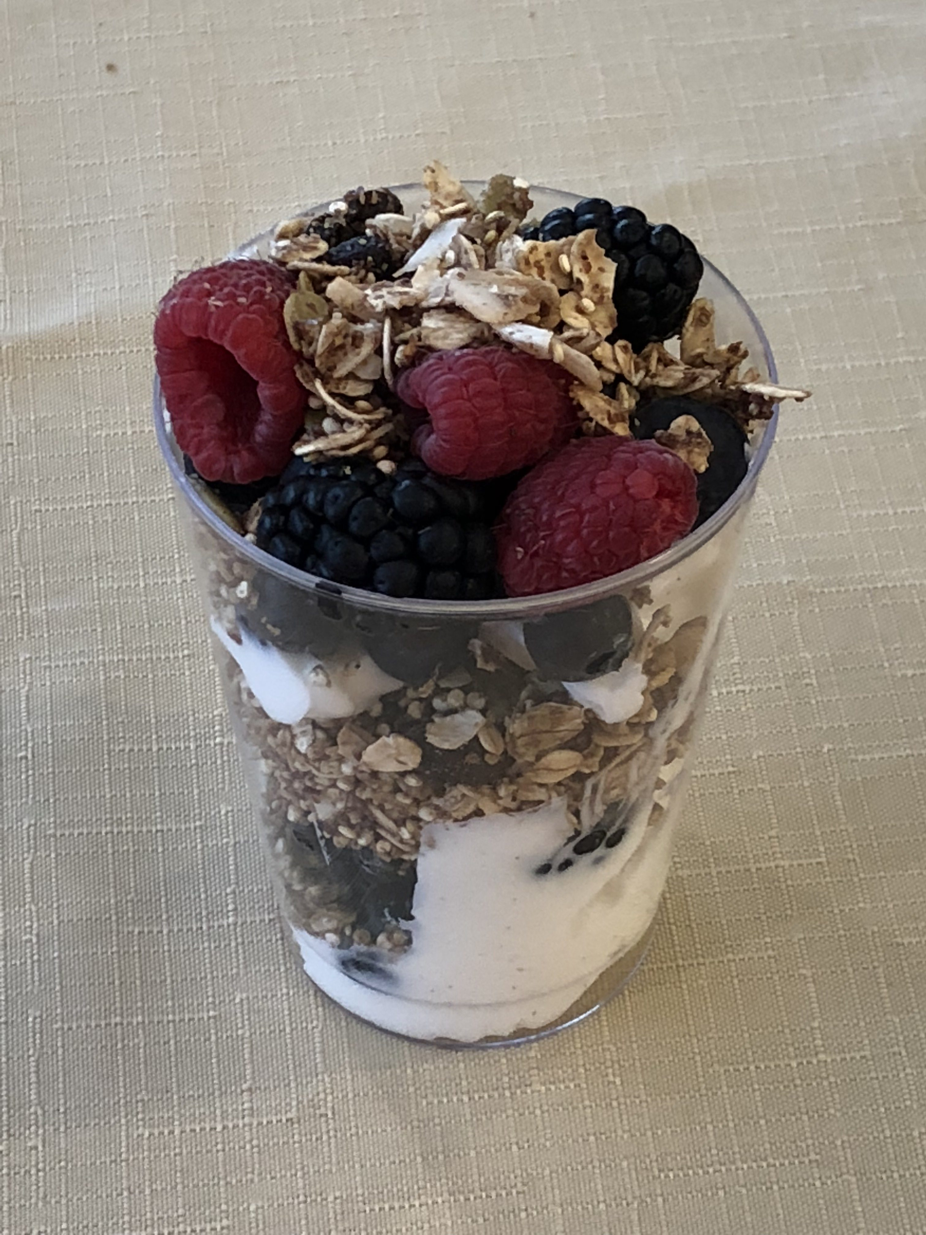 dieting plans include homemade granola
