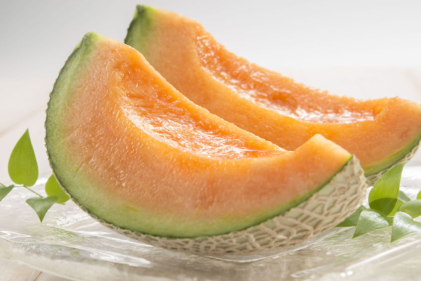 a healthy diet includes cantaloupe