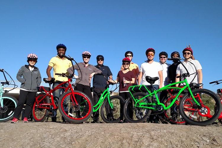 fun with electric bikes