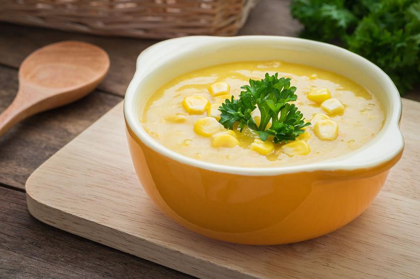 a healthy eating plan corn chowder