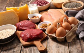 healthy diet plan and meat