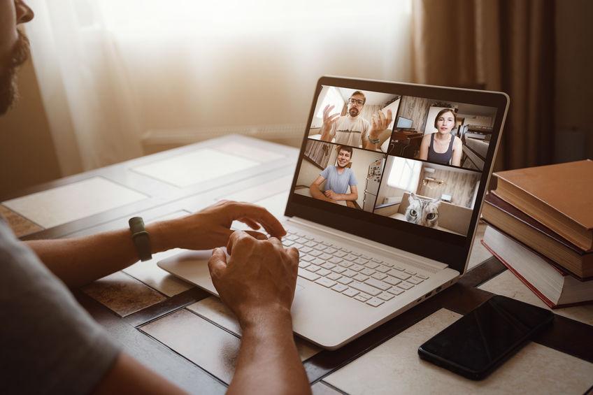 Zoom meetings and health